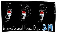 #InternationalPressDay A tweet is not journalism. For a free and truthful press #visualthinking