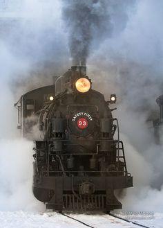 Nevada Northern Railway #93