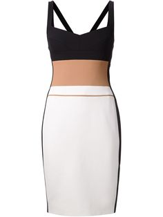 Narciso Rodriguez Colour Block Fitted Dress - Marissa Collections - Farfetch.com