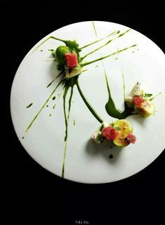 gourmet salad presentation on a plate - Google Search