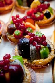 My favorite dessert - Italian Fruit Tarts!