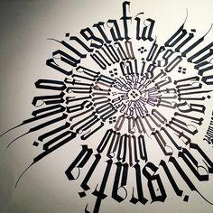 #cursos #caligrafia #calligraphy #gothic #gotica #textura #texture #bilbao