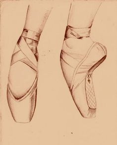 (With a pair of ballet shoes by ~julie-livia on deviantART)
