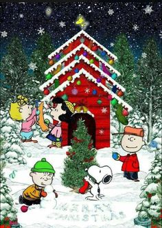 Charlie Brown & Snoopy & The Peanuts Gang Christmas Scenes, Christmas Love, Christmas Pictures, Vintage Christmas, Xmas, Funny Christmas, Merry Christmas Memes, Christmas Lights, Grinch Christmas