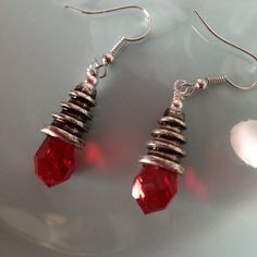 Check out this item in my Etsy shop https://www.etsy.com/listing/250528150/red-swarovski-earrings-beaded-earrings