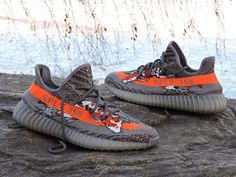 finest selection 92f5e 315b2 My buddy customed 350 v2 Beluga with Koi fish  Sneakers Adidas Shoes,  Shoes Sneakers