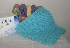 The Left Side of Crochet: I Love This Washcloth