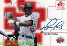 1999 SP Signature Autographs #DO David Ortiz  $30