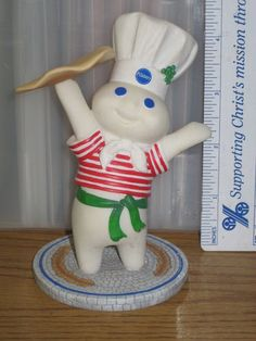 Pillsbury Doughboy International Figurines Italy Danbury Mint
