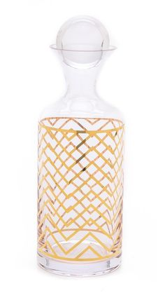 chevron decanter | C. Wonder
