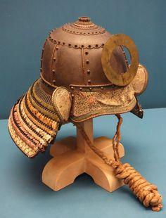 File:Saigabachi style helmet bowl with variegated lacing, Edo ...