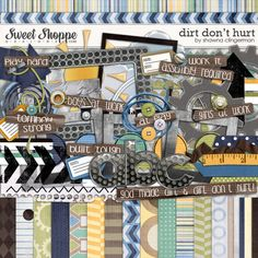 Sweet Shoppe Designs::2013 Going, Going....GONE!::Kits::Dirt Don't Hurt by Shawna Clingerman