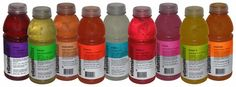 Vitamin Water ~~ Focus, Energy, Revive... some that I have liked have now disappeared