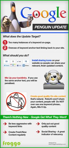 Penguin update infographic