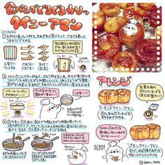 Sweets Recipes, Cake Recipes, Cooking Recipes, Desserts, Kawaii Cooking, Food Illustrations, Food Menu, Japanese Food, Food Art
