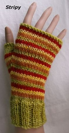 Three patterns for mittens pattern by Brian smith : Ravelry: Three patterns for mittens pattern by Brian smith Loom Knitting, Knitting Patterns Free, Free Knitting, Crochet Patterns, Hat Patterns, Stitch Patterns, Fingerless Gloves Knitted, Knit Mittens, Wrist Warmers