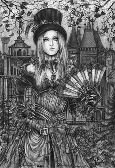 The Victorian era. Time of Steampunk by AnnaArmona