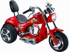 Mini Motos Red Hawk Motorcycle Battery Powered Riding Toy - Red - Little ones will fulfill their dreams of the open road on the Red Hawk Battery Powered Motorcycle. He'll reach speeds of 3 mph by pressing the handlebar. Motorcycle Battery, Motorcycle Wheels, Chopper Motorcycle, Rechargeable Battery Charger, Remo, Kids Ride On, Ride On Toys, Electric Scooter, Electric Vehicle