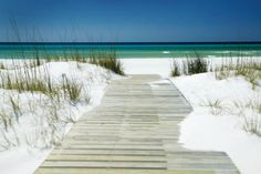 Santa Rosa Beach, Florida. I want to go here for a week and do absolutely nothing...