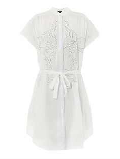 Tilda embroidered cotton dress - Saloni