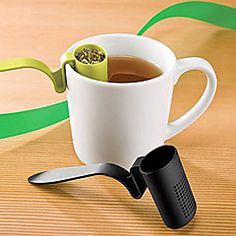 kanál+alakú+műanyag+tea+infuser+szűrővel+gyógynövény+fűszer+levél+teáskanál+(véletlenszerű+szín)+–+EUR+€+2.62