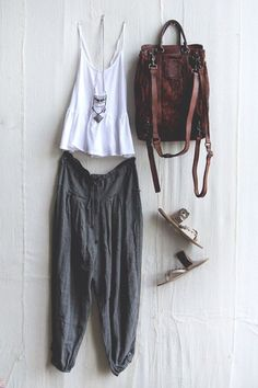 By bohemian chic fashion, bohemian style clothing, hippie chic, boho Style Outfits, Mode Outfits, Casual Outfits, Fashion Outfits, Hippie Outfits, Fashion Clothes, Fashion Ideas, Style Clothes, Summer Outfits Boho Hipster
