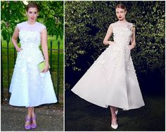 Princess Beatrice in Nicholas Oakwell – The Serpentine Gallery Summer Party