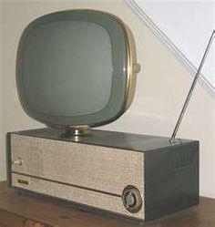 Cutting edge Philco TV.