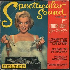 Marilyn on the cover of this Spanish EP on Belter Records  The original ELO – The Enoch Light Orchestra that is!