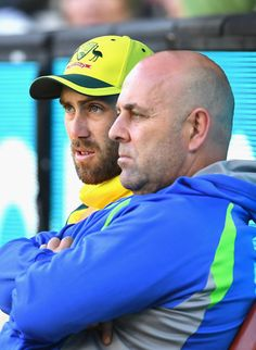 Darren Lehmann Photos Photos - Glenn Maxwell of Australia speaks to Darren Lehmann on the boundary line during game three of the One Day International series between Australia and New Zealand at Melbourne Cricket Ground on December 9, 2016 in Melbourne, Australia. - Australia v New Zealand - ODI Game 3