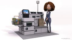 Gute Noten für Akzeptanz und Zufriedenheit der Mitarbeiter an Selbstbedienerkassen - http://aaja.de/2fOvPZF