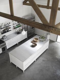 gorgeous white Vipp kitchen Est Living @estemag #estliving #estdesigndirectory