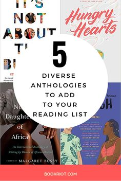 5 Diverse Anthologies to add to your reading list in 2019 BookRiot.com | Diversity | Book Recommendations | Book Lists | #diversebooks #anthologies #booklists #booklovers