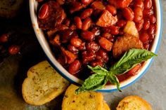 SBR Slow Cooker Beans and Sausage