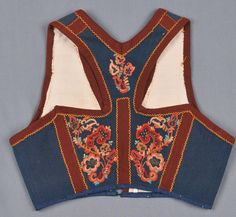 DigitaltMuseum is a common database for Norwegian and Swedish museums and collections. Folk Costume, Costumes, Norway, Vest, Embroidery, Collection, Fashion, Needlework, Needlepoint