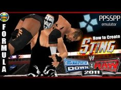 WWE: How to Create Sting - SvR 2011 #PSP #CAWs [PPSSPP]