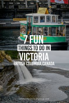 Located on the southern end of Vancouver Island Victoria B. has the mildest climate in Canada. Here are 7 fun things to do in Victoria B. Victoria Canada, Victoria British Columbia, Visit Victoria, Quebec, Montreal, Banff, Vancouver Travel, Victoria Vancouver Island, Vancouver Vacation