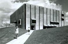 University of Queensland Library, Brisbane, Australia (1973) Architect: Robin Gibson