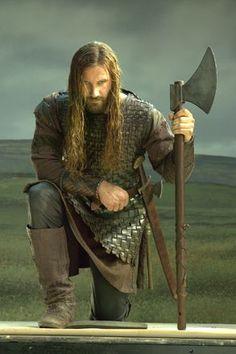 Rollo Lothbrok from Vikings. Viking Men, Viking Life, Viking Warrior, Vikings Show, Vikings Tv Series, Vikings Rollo, Rollo Lothbrok, Vikings Travis Fimmel, Painting Art