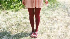 <3 maroon tights