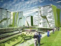 Eco City In Istanbul Architecture Life Sustainable Futuristic Design
