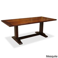 Trestle Dining Table | Overstock.com