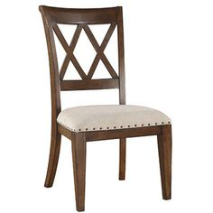 Emerald Umber Double X-back Side Chair (Set of 2) | Overstock™ Shopping - Great Deals on Dining Chairs