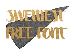 DLOLLEYS HELP: Swettiest Free Font