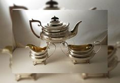 Look only into reputable and authorized silver dealer to sell your antique silver tea sets.