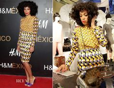 Solange Knowles In H - H Santa Fe Store Opening