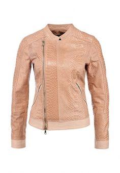 Куртка Guess by Marciano выполнена из натуральной кожи бежевого оттенка. Особенности: прямой крой, воротник-стойка, застежка на молнии, два кармана, длинный рукав, манжеты на молниях, легкая подкладка. http://j.mp/1nYzG1B