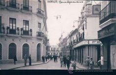 HUELVA. BANCO HISPANO AMERICANO. FOTO POSTAL DE HUELVA
