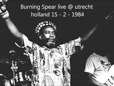 Burning Spear live @ utrecht holland (15 - 2 -1984) Burning Spear Live, Utrecht, Holland, Teaching, Memes, Youtube, The Nederlands, Meme, The Netherlands