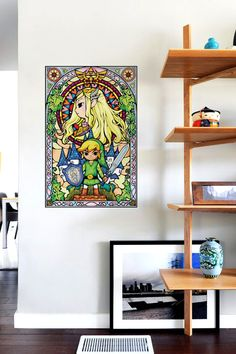 The Legend of Zelda: Princess par Nintendo - Plongez au coeur de l'univers de Zelda, l'un des plus célèbres jeux vidéo débarque sur vos murs!